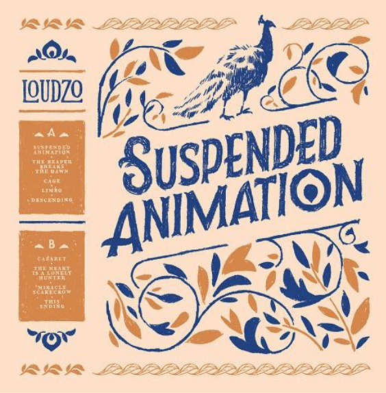 Loudzo - Suspended animation - 2017 - Caen - Album - Vinyle - NMP